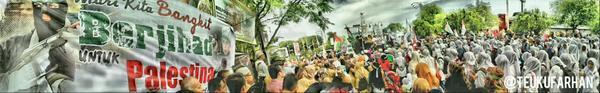 banda aceh support gaza 2
