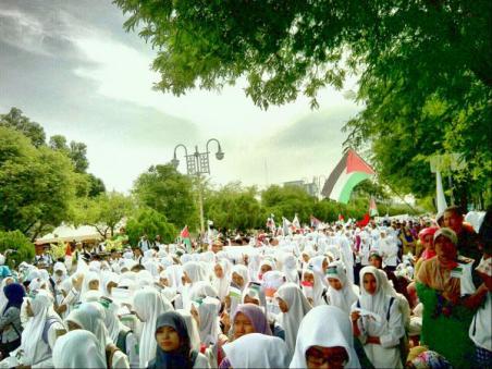 banda aceh support gaza