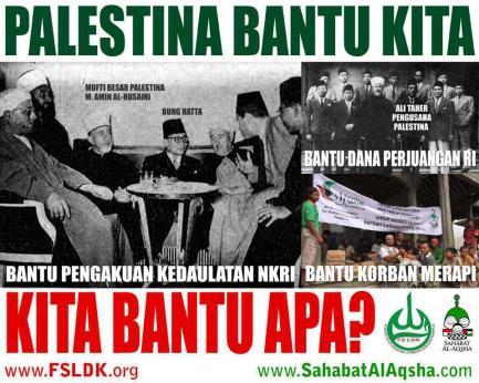 palestina bantu indonesia