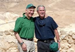 President+Bush+Visits+Desert+Fortress+Masada+Lt_3yCPAPnxl