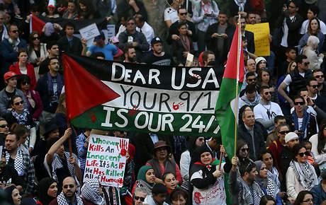 SYDNEY GAZA PROTEST