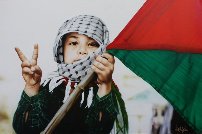 Palestine_Children_Freedom_Victory_Sign_Flag_Resistence_Intifada
